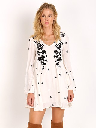 Free People Sweet Tennessee Mini Dress Ivory
