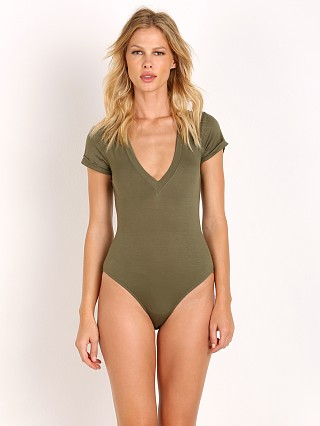 Free People Me Oh My Bodysuit Olive