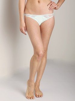 Only Hearts So Fine with Lace Thong Ice Mint