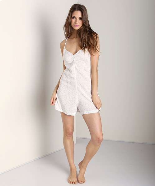 Only Hearts Emily Playsuit White