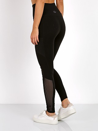 Beyond Yoga Mesh Behavior High Waist Legging Jet Black