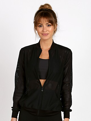 Beyond Yoga So Bomber Jacket Black