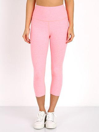 Beyond Yoga Spacedye High Waist Capri White Coral Reef