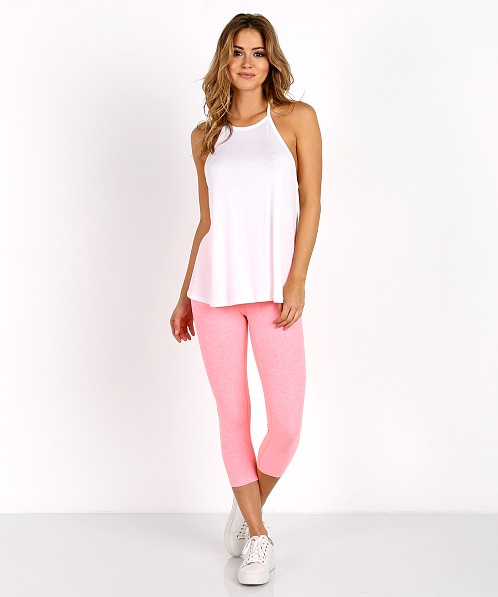 Beyond Yoga Lay Low Tank White