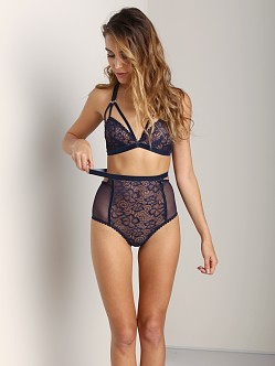 Lonely Sabel High Waisted Brief Navy
