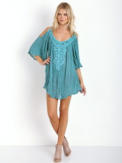 Jen's Pirate Booty Dahlia Tunic Teal