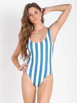 Solid & Striped The Anne Marie Blue & White