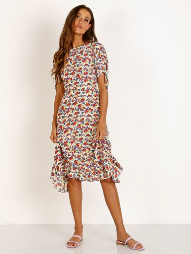 Faithfull the Brand Emilia Midi Dress Lumina Floral