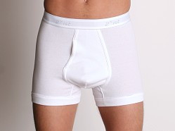 2xist Essential Boxer Brief White