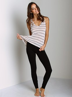 Splendid French Terry Legging Black