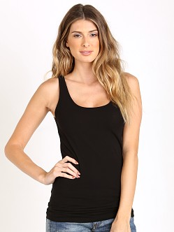 Splendid Stretch Layers Tank Black