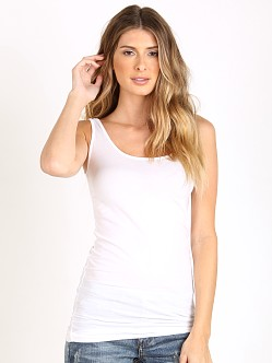 Splendid Stretch Layers Tank White