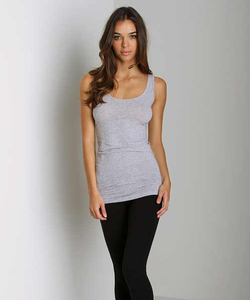 Splendid Stretch Layers Tank Heather Grey