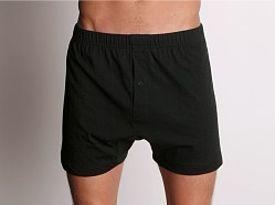 2xist Essential Button Fly Boxer Black
