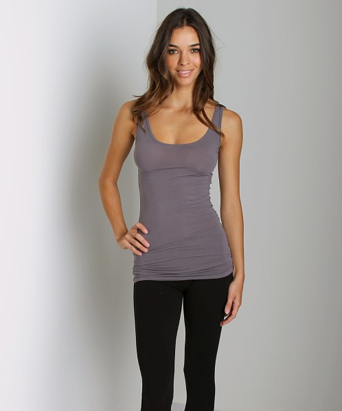 Splendid Stretch Layers Tank Shadow