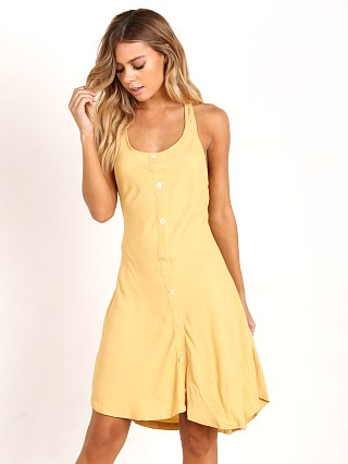 Zulu & Zephyr Full Sun Dress Yellow