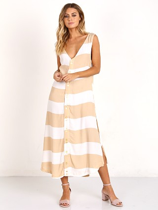 Zulu & Zephyr Gazebo Dress White/Nude