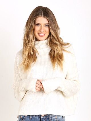 One Teaspoon First Class High Knit Blanc