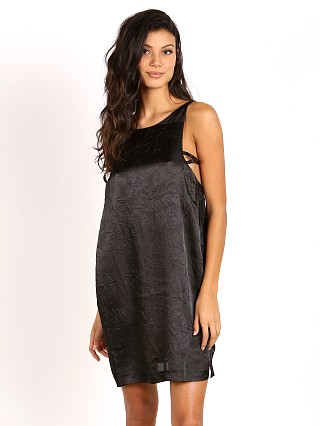 One Teaspoon Velvet Love Dress Black