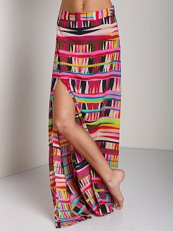 Show Me Your Mumu Mick Slit Skirt Tiki Hut