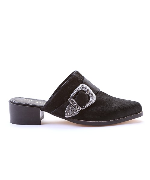 Nightwalker Broken Arrow Mules Black