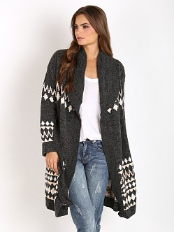 MinkPink Sweet Like Chocolate Cardigan Multi