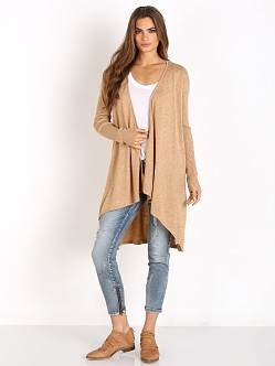 MinkPink Unexpected Cardigan Oatmeal