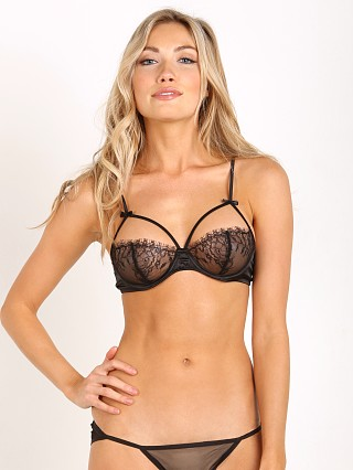 Maison Close Villa Satine Naked Bra Black