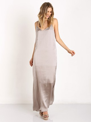Show Me Your Mumu Jolie Maxi Dress Silver Dollar Silky