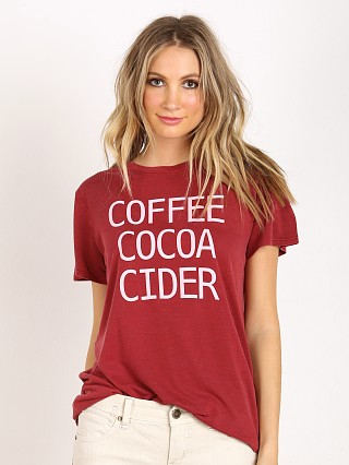 Show Me Your Mumu Mumu Oliver Tee Coffee Cocoa Cider