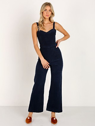 Model in oxford LACAUSA Rosie Jumpsuit