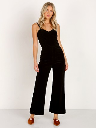 Model in tar LACAUSA Rosie Jumpsuit