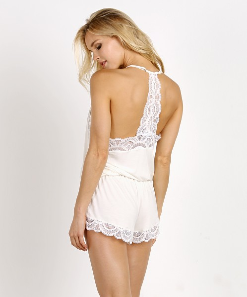 Eberjey Marry Me Racerback Teddy Ivory