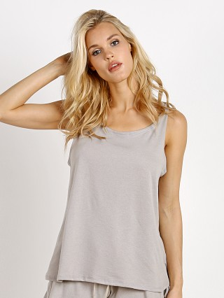 Eberjey Walker Tank Top Warm Grey