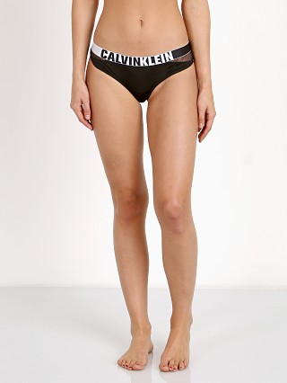 Complete the look: Calvin Klein Hook Up Micro Thong Black