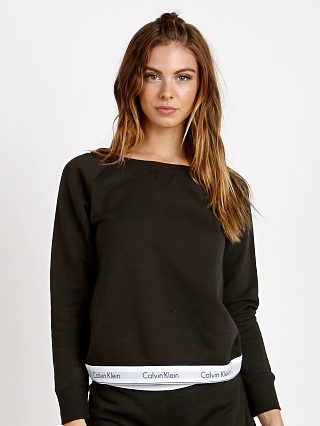 Complete the look: Calvin Klein Modern Cotton Sweatshirt Black