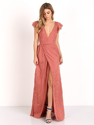 The Jetset Diaries Getaway Maxi Dress Coral