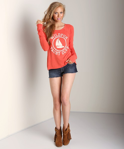 WILDFOX Sail On Cozy Raglan Life Guard