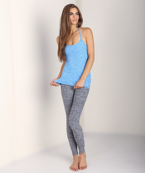 Beyond Yoga Space Dyed Skinny Strap Cami Deep Sea Blue