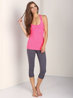 Beyond Yoga Open Back Tank Neon Berry