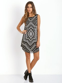 Mara Hoffman Dashiki Dress Black