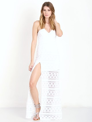 Nightcap Cherokee High Slit Gown White
