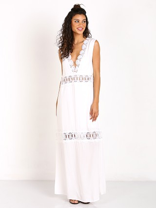 Suboo Stevie Lace Maxi Dress Ivory