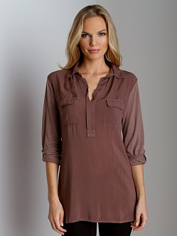 Splendid Shirting Long Sleeve Top Cabin