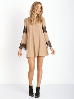 For Love & Lemons Festival Dress Camel