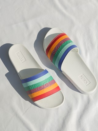 Keds Rainbow Pool Slide