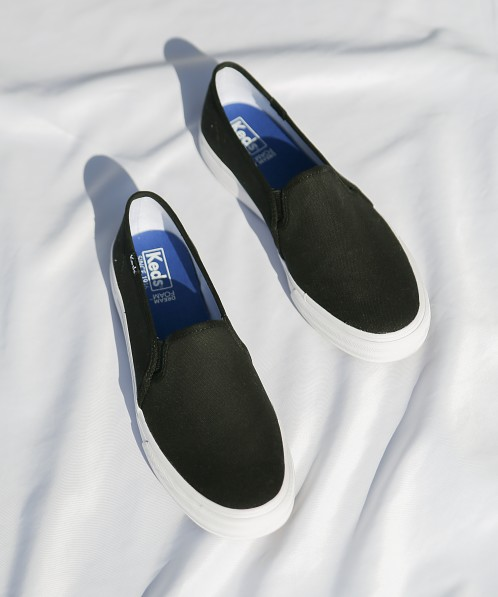 Keds Double Decker Canvas Sneaker Black