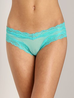 Only Hearts Whisper Brazilian Bikini Sea Green