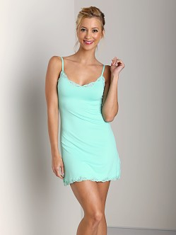 Only Hearts Delicious With Lace Chemise Sea Green