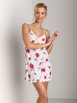 Only Hearts American Beauty Chemise Rose Print